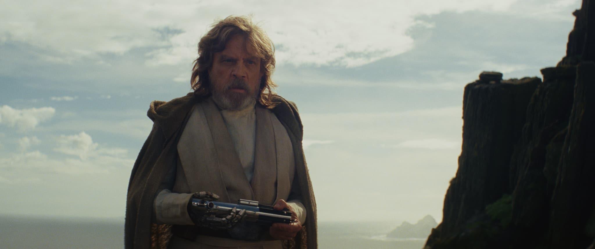 La leyenda de Luke Skywalker