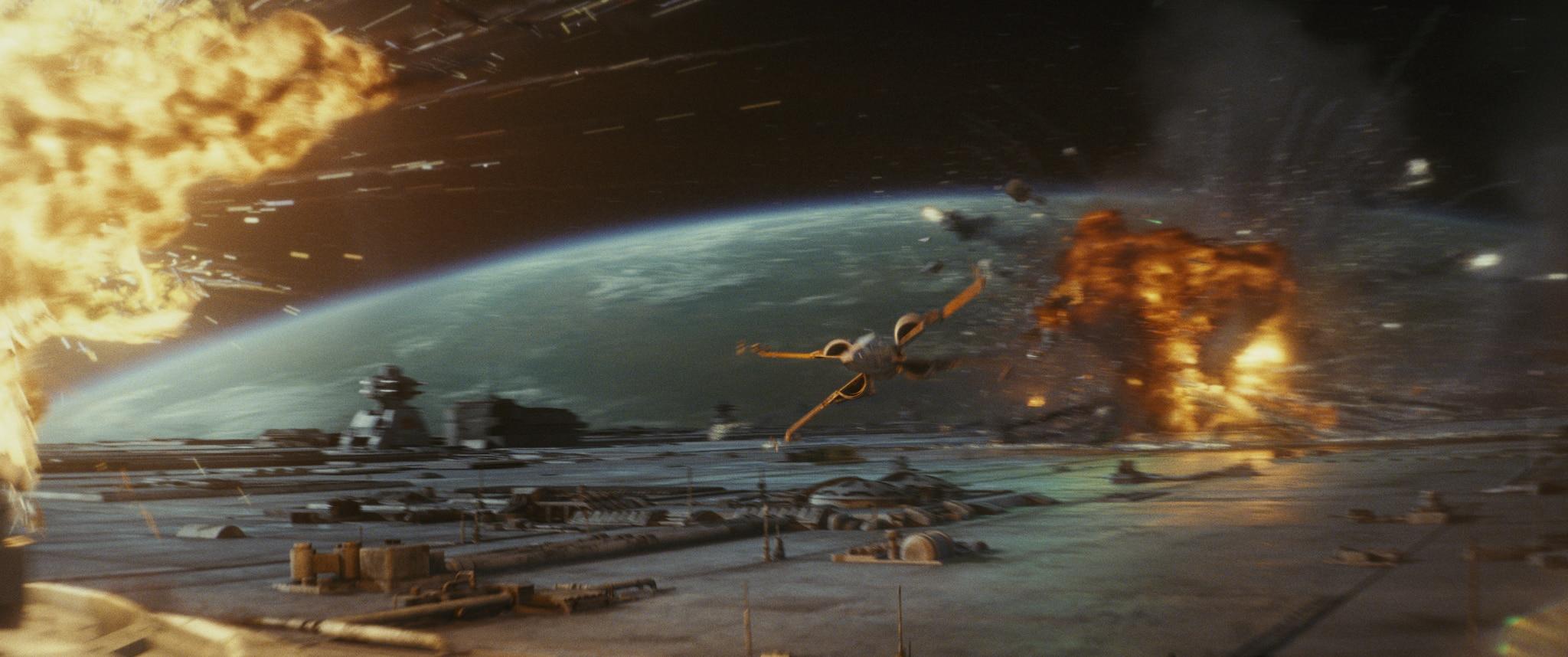 La acción de Los últimos Jedi es de lo mejor en la saga
