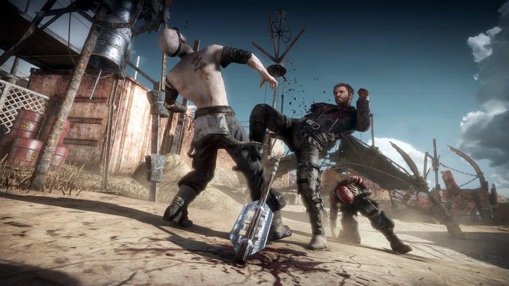 El combate en Mad Max - El juego promete
