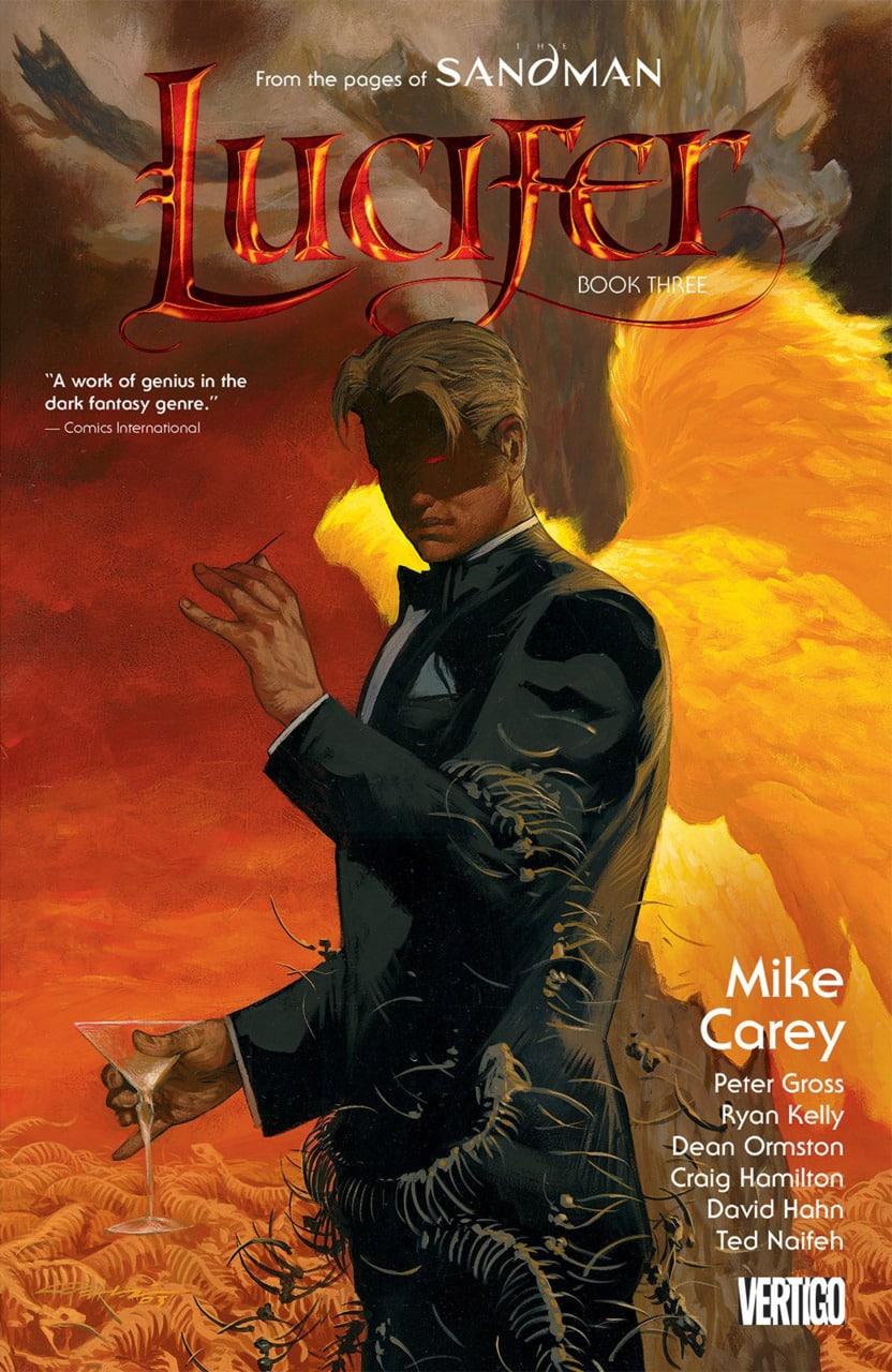 El comic de Lucifer , un spinoff del famoso Sandman de Neil Gaiman