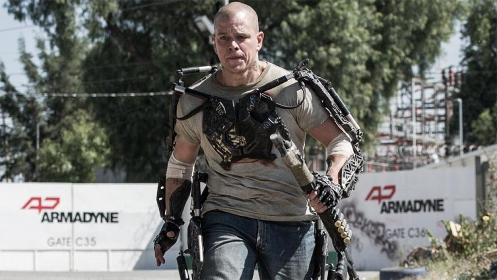 "Matt Damon en ""Elysium"""