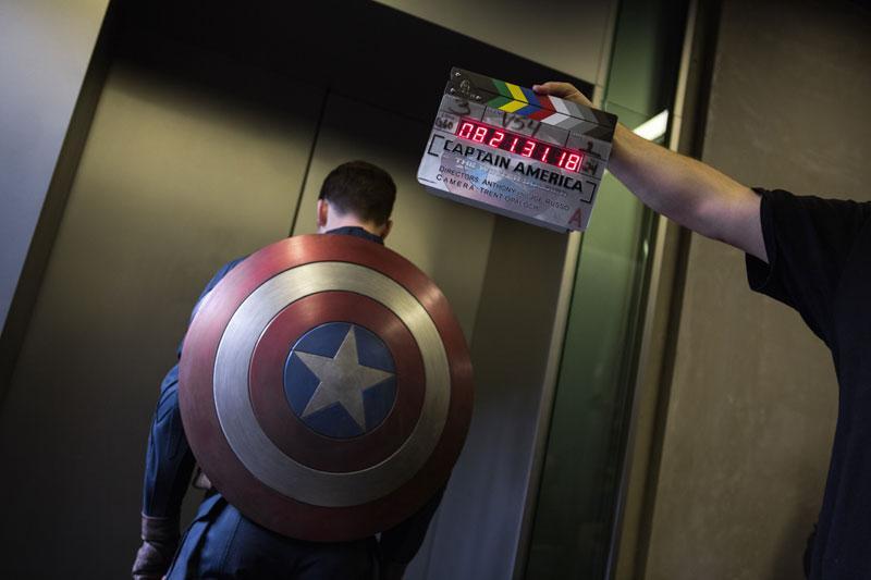 Evan Captain America