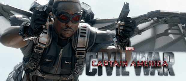 Falcon Captain America Civil War