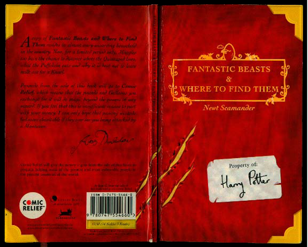 Fantastic Beasts and Where to Find Them de JK Rowling llegará a la Pantalla con Warner Bros