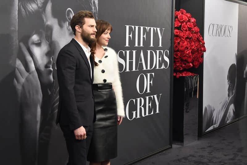 Fifty Shades of grey actores que no se soportan