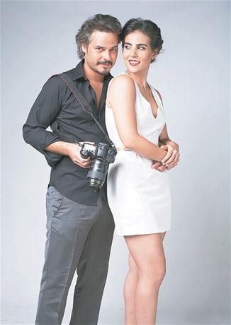 Frank Perozo y Sarah Jorge