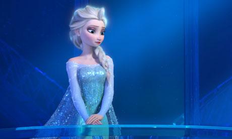 Frozen de Disney cinta ganadora del Oscar a mejor cinta Animada