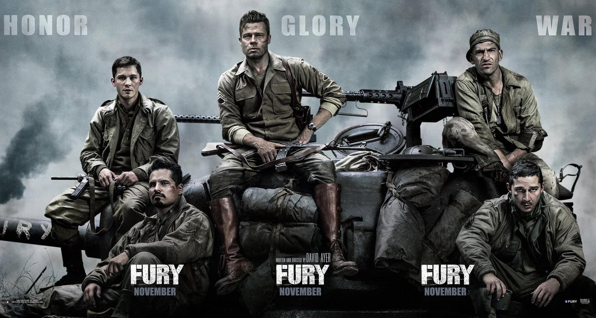 Fury - Corazones de hierro
