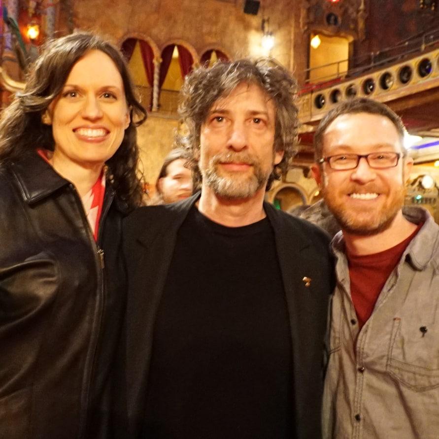 Neil Gaiman y Brett Culp