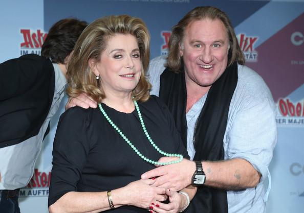 Gerard Depardieu y Catherine Deneuve