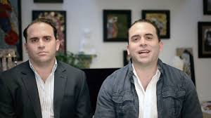 Gianpaolo y Alessandro Pietri