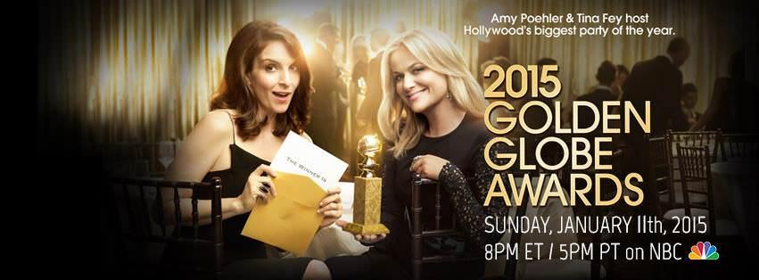 Imagen promocional de los Golden Globes Awards 2015 y todos sus ganadores. Como cada año se dan los Golden Globe Awards, y aquí los nominados y ganadores de la 72da entrega.