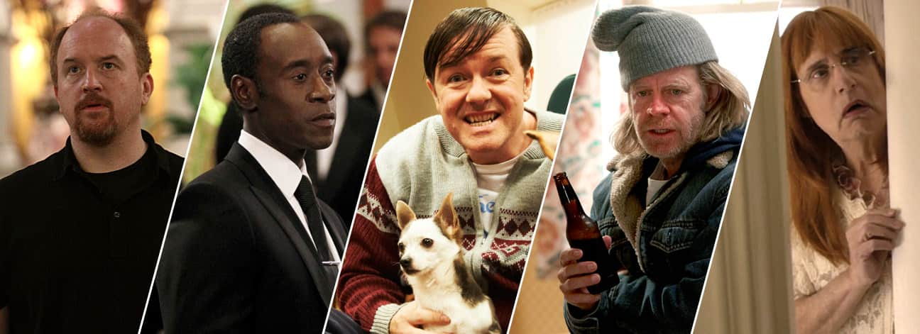 Imagen promocional de los Golden Globes Awards 2015 y todos sus ganadores. Como cada año se dan los Golden Globe Awards, y aquí los nominados y ganadores de la 72da entrega. Los nominados a mejor Actor de Comedia o Musical en TV son: Louis C.K. – Louie Don Cheadle – House of Lies Ricky Gervais – Derek William H. Macy – Shameless Jeffrey Tambor – Transparent