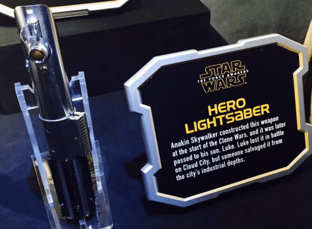 Graflex lightsaber star wars