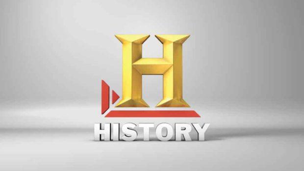 History Logo / canal de TV / 1995