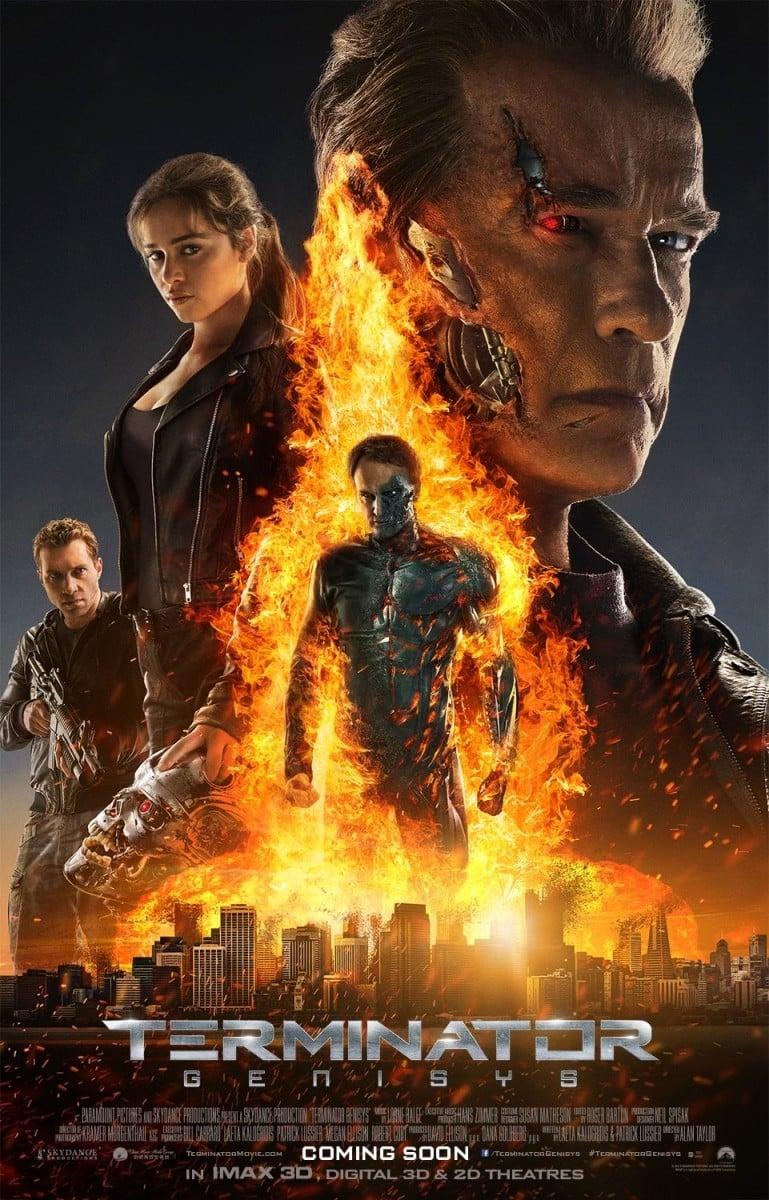 Nos ha dejado fríos este poster de Terminator Genisys