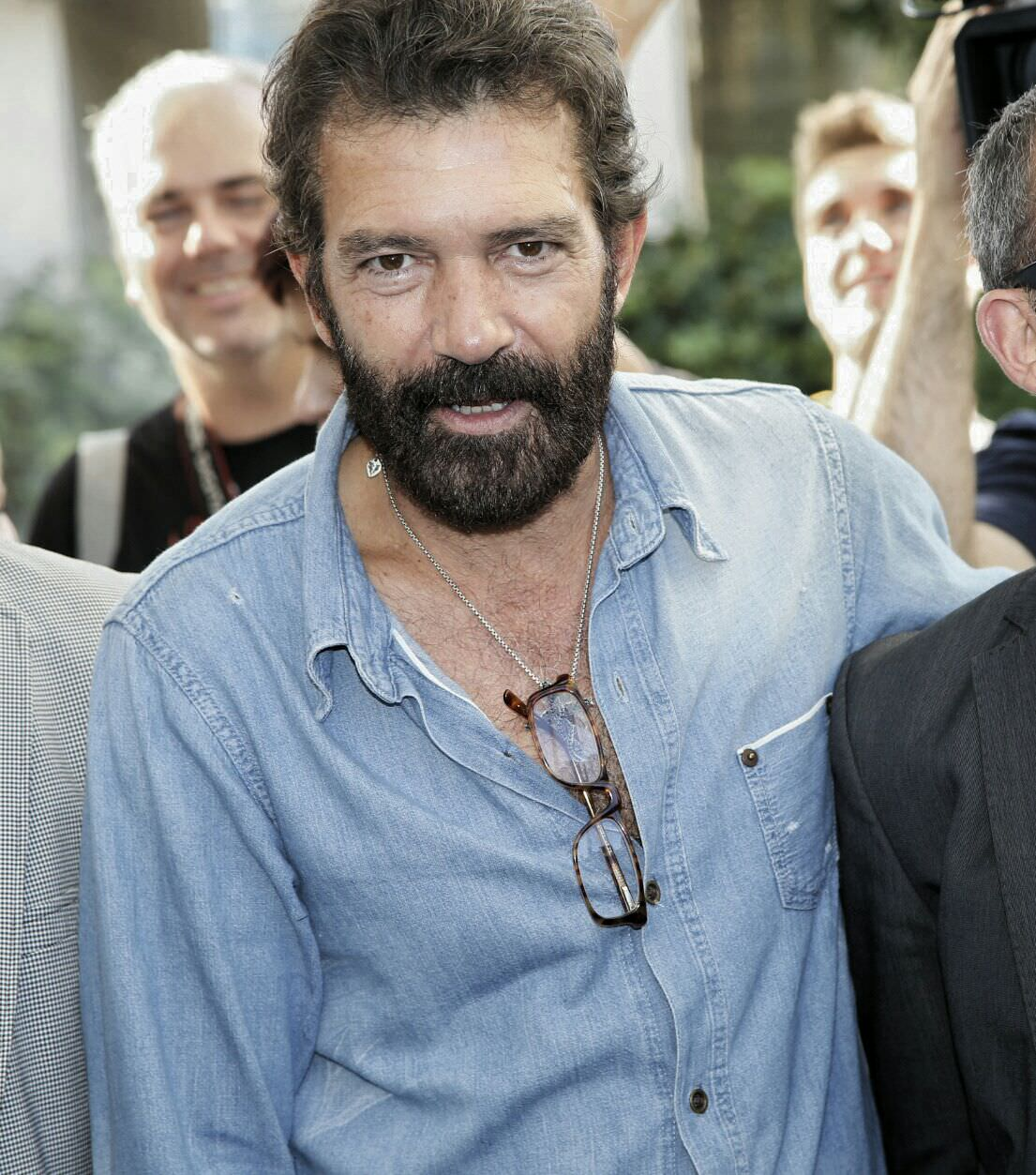 Antonio Banderas en Sitges 2014 / Photo by Nicolas Afonso