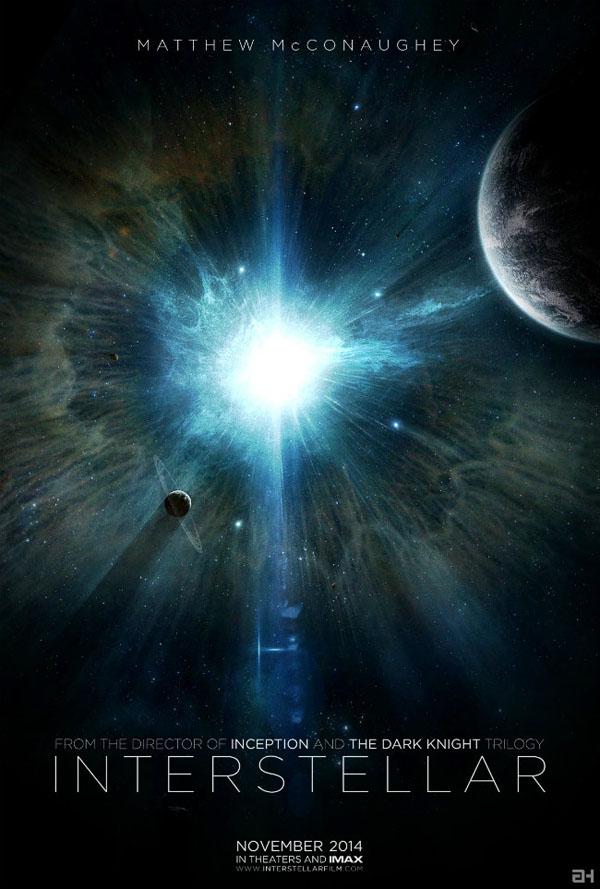Primer poster de Interstellar de Christopher Nolan de Paramount Pictures