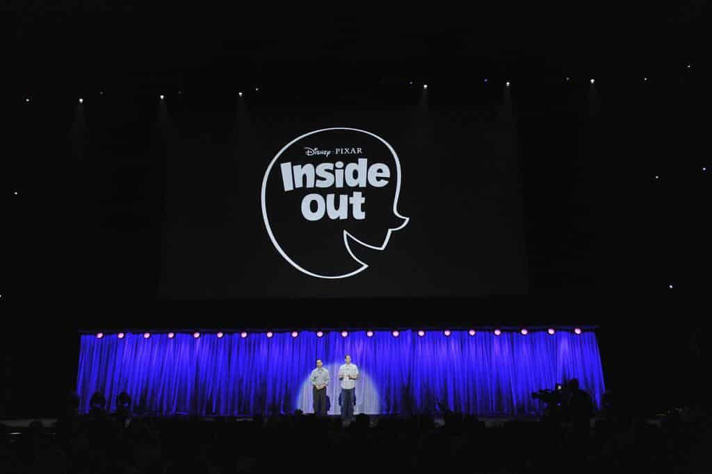 Presentación oficial de Inside Out en el pasado D23, convención anual de Disney.