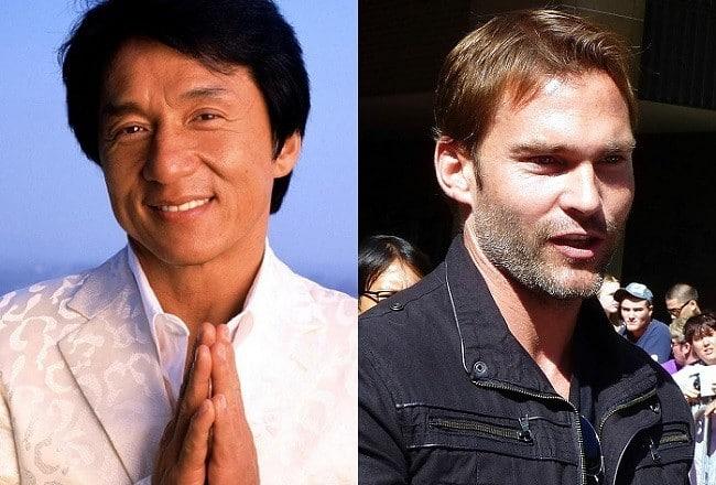 Jackie Chan y Seann William Scott