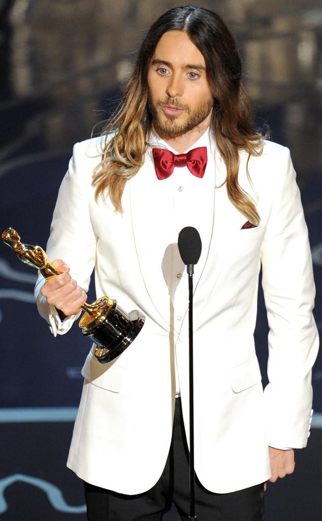 Jared Leto ganador del Oscar como mejor actor secundario por Dallas Buyers Club