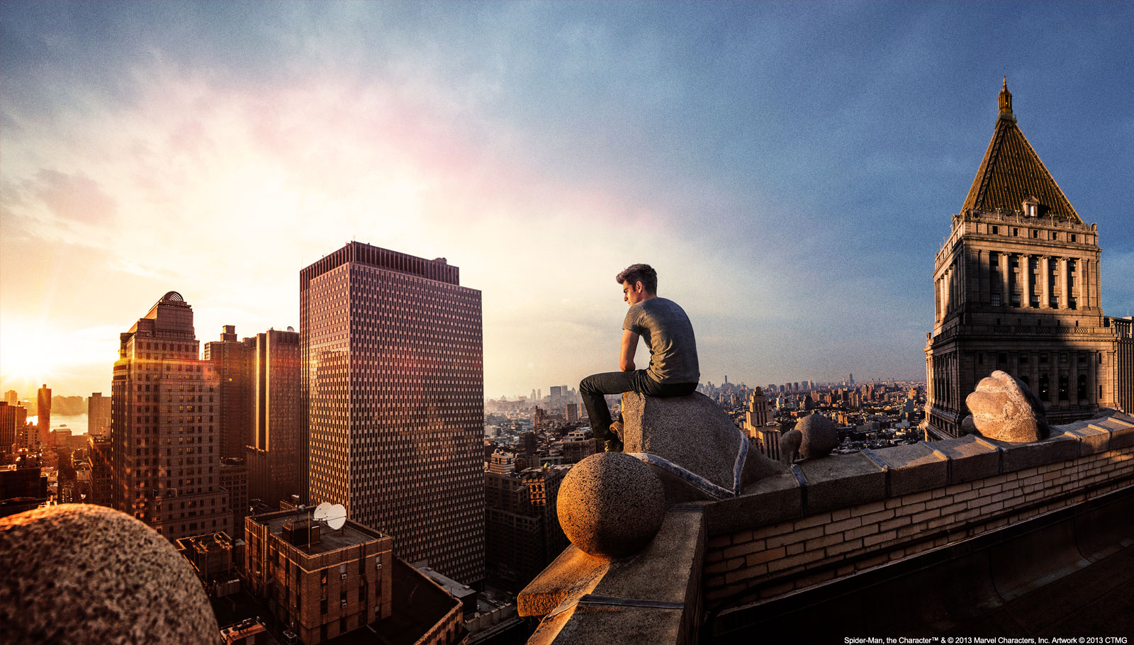 Peter Parker Andrew Garfield