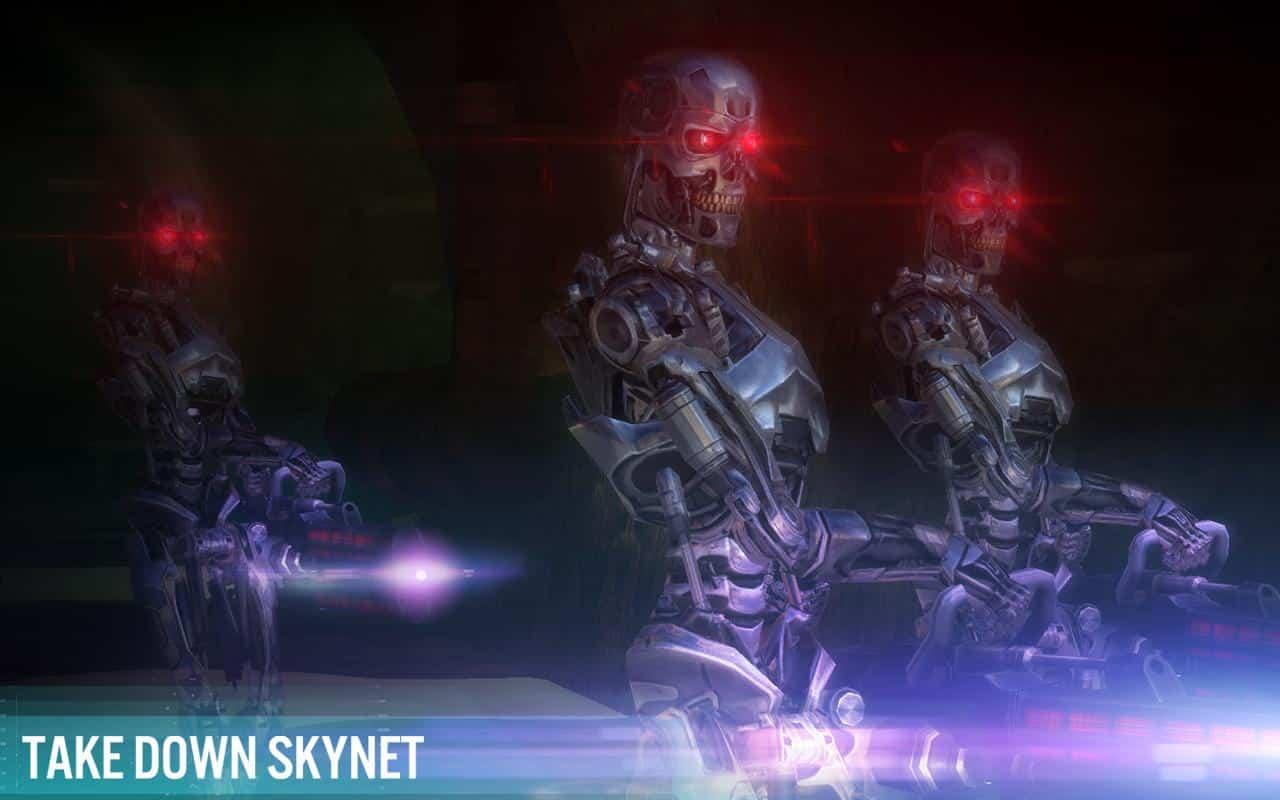el juego de Glu para Terminator Genisys