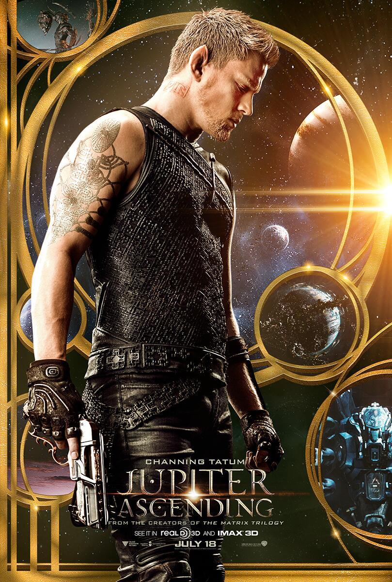 Nuevo Poster de Jupiter Ascending con Channing Tatum