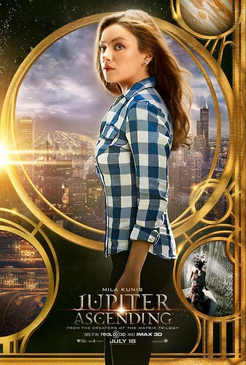 Nuevo Poster de Jupiter Ascending con Mila Kunis