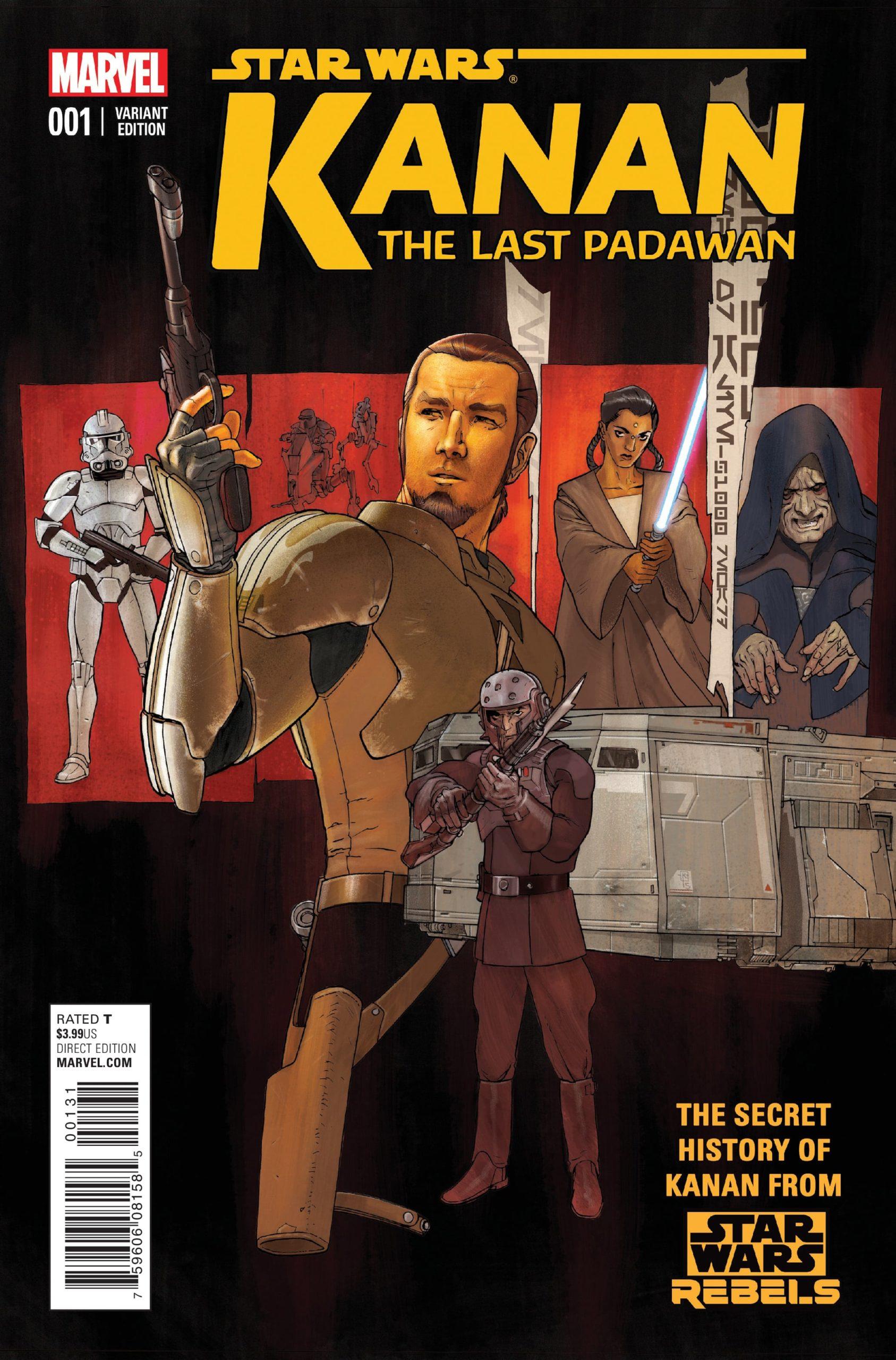 Kanan the last padawan - Killian Plunkett