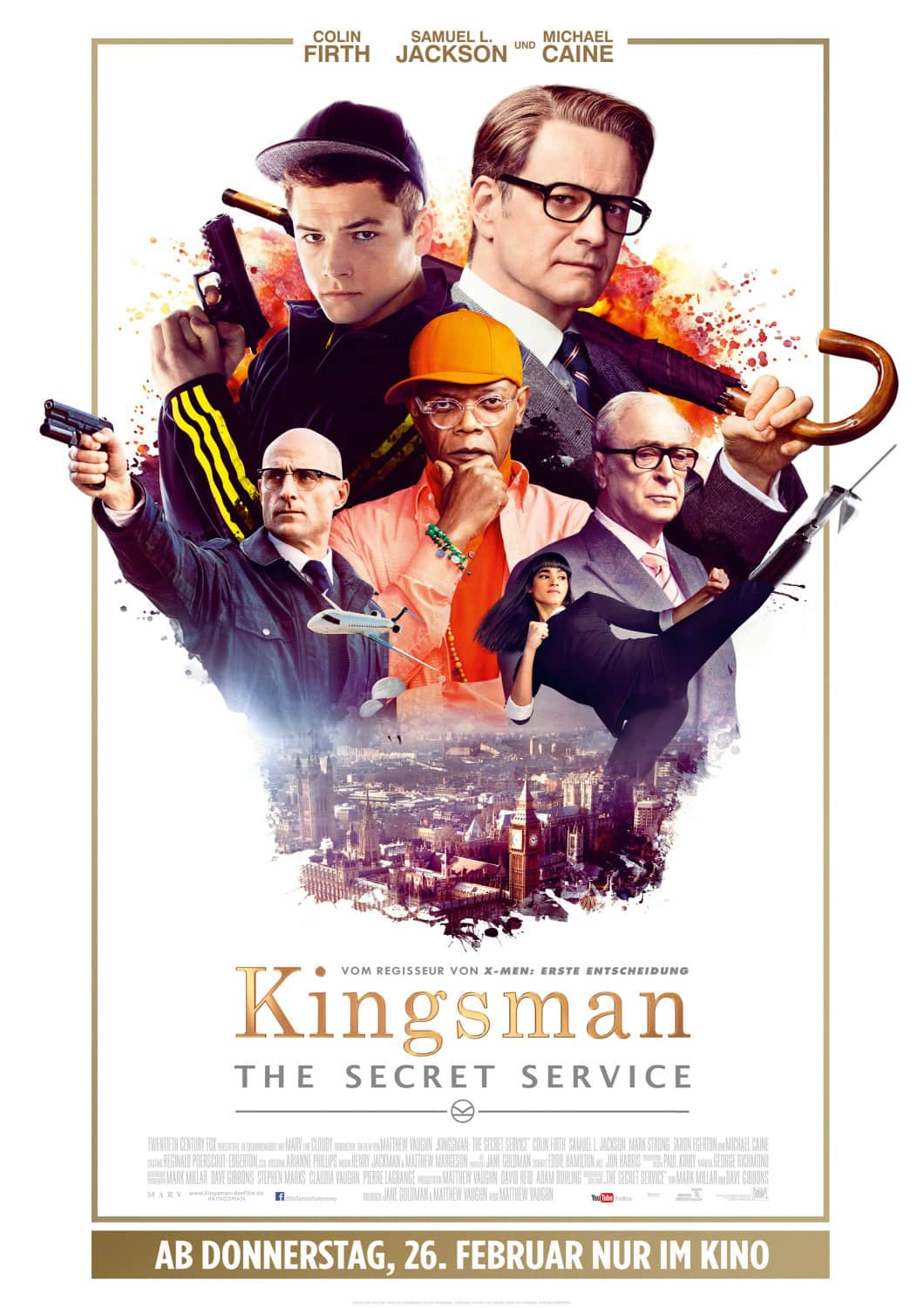 """like a Spy"" el promocional para Kingsman del superbowl"