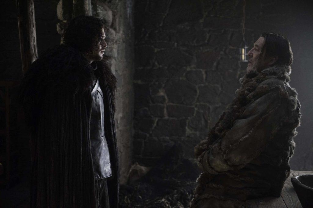 Jon Snow y Mance Rayder