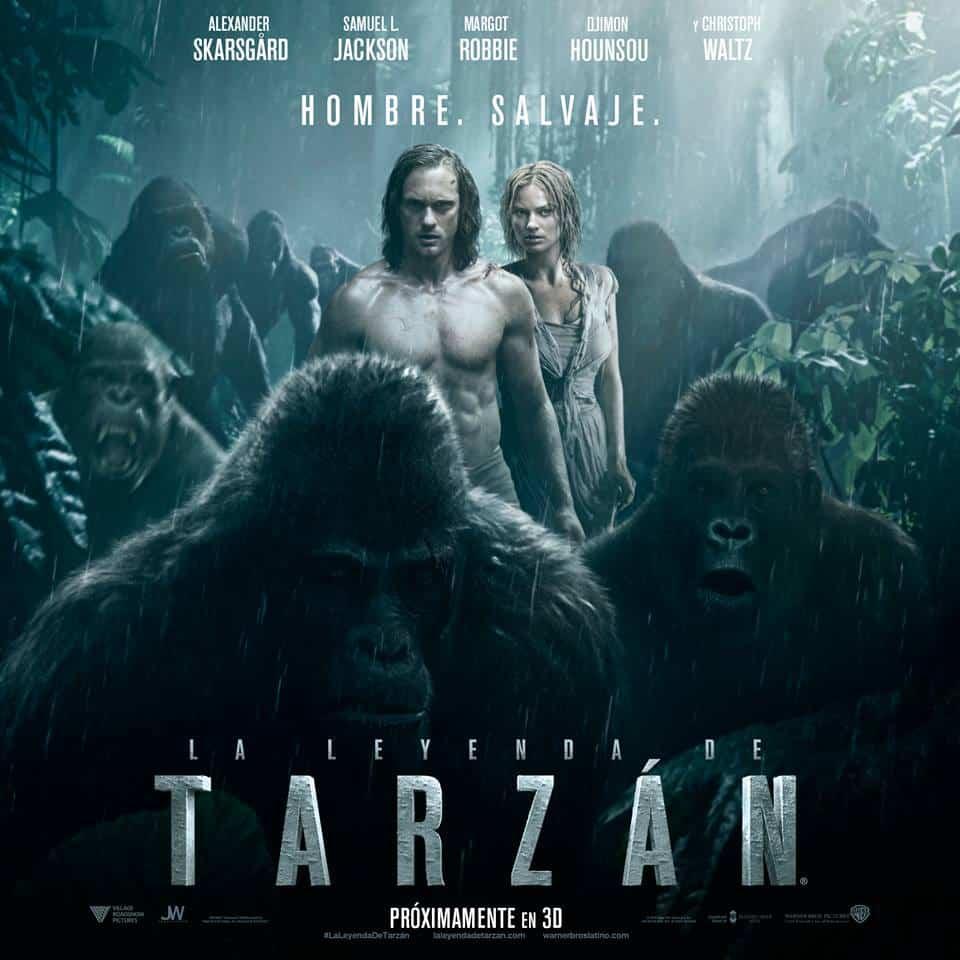 La Leyenda de Tarzan-poster