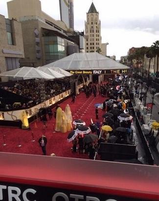 La lluvia en los Premios Oscar