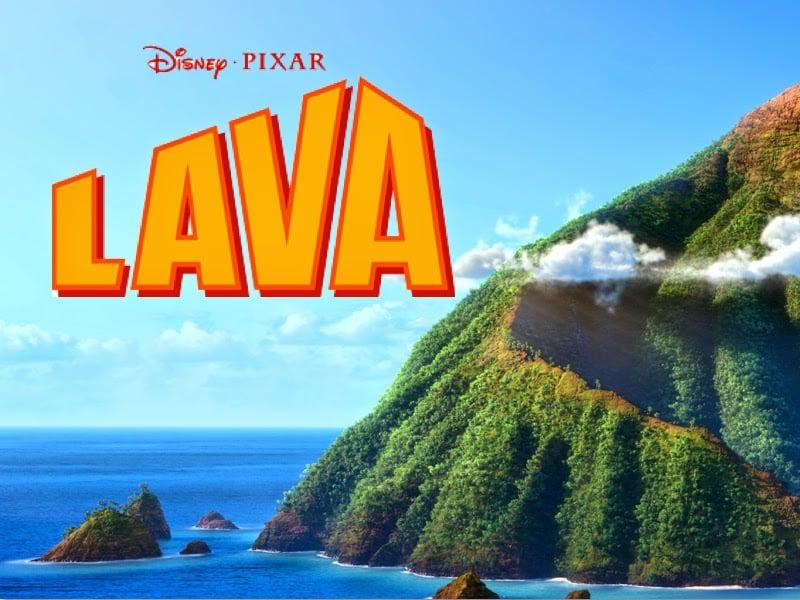 Imagen promocional de Lava, nuevo cortometraje de Disney Pixar, previa a Inside Out. Lava es dirigido por James Ford Murphy, y se estrenará antes de Inside Out el 19 de Junio de 2015.