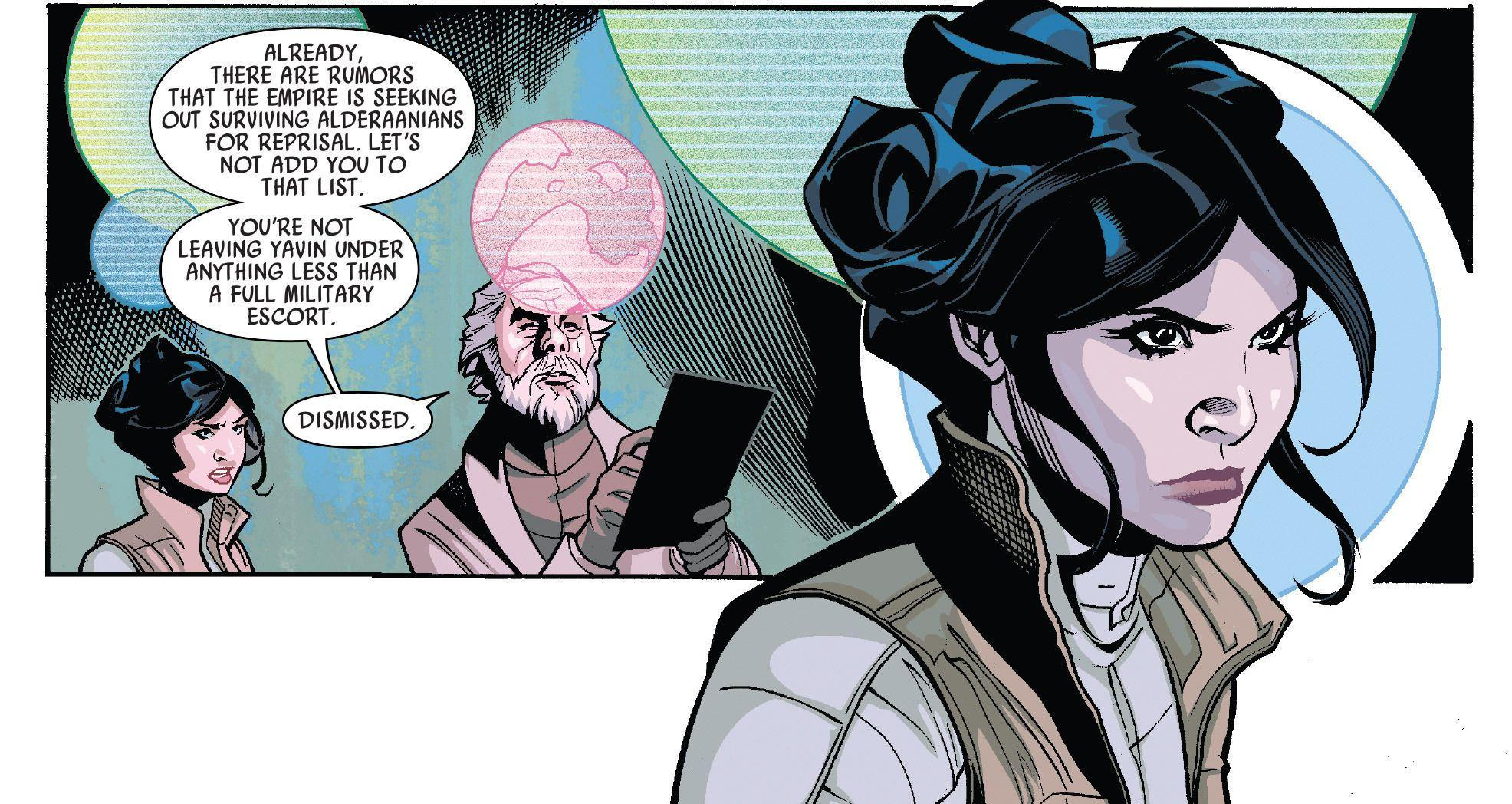 Leia Marvel comic