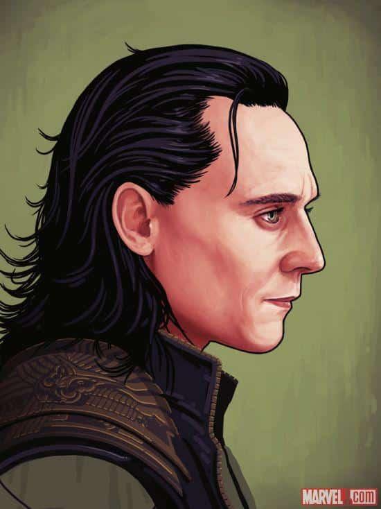Loki Mondo portrait thor the dark world