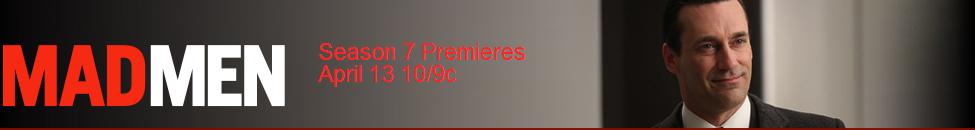Banner Oficial de Mad Men de AMC