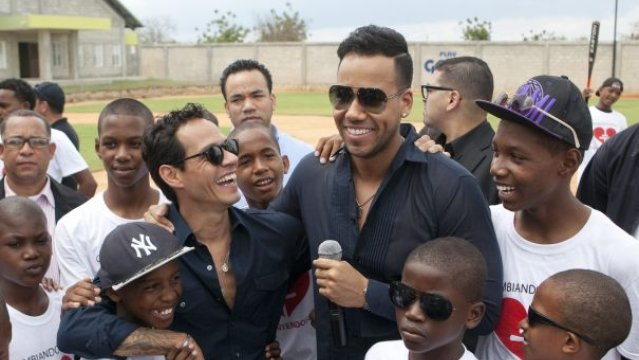 Marc Anthony y Romeo Santos