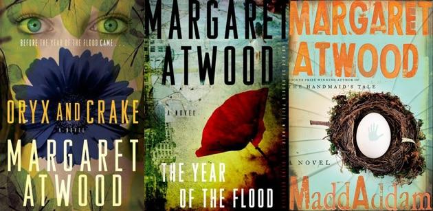 Las novelas de Margaret Atwood, Oryx and Crake, Year of the Flood y MaddAddam, las cuales serán adaptadas a la TV por parte de Darren Aronofsky y HBO.