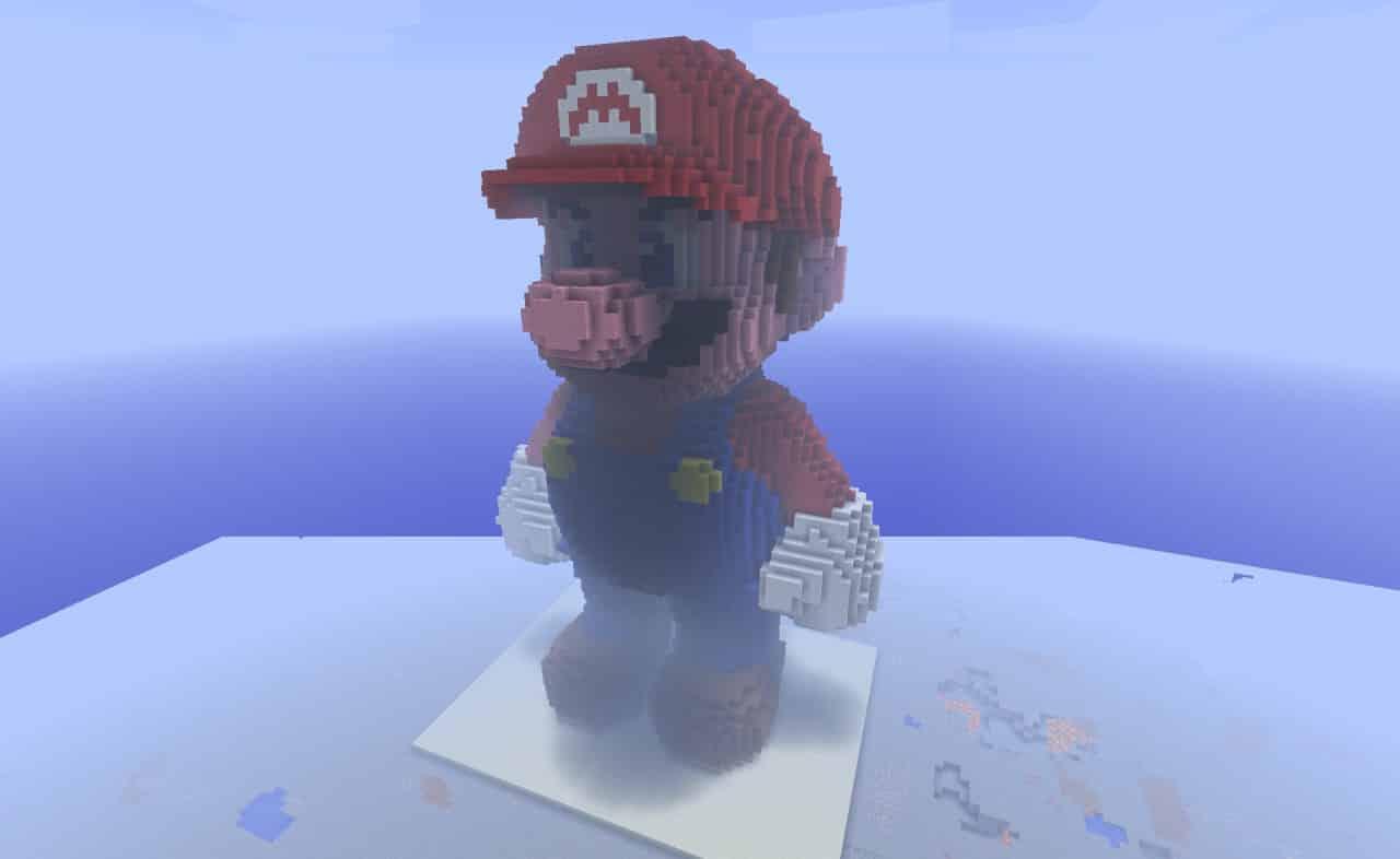 Mario vs Minecraft (1)