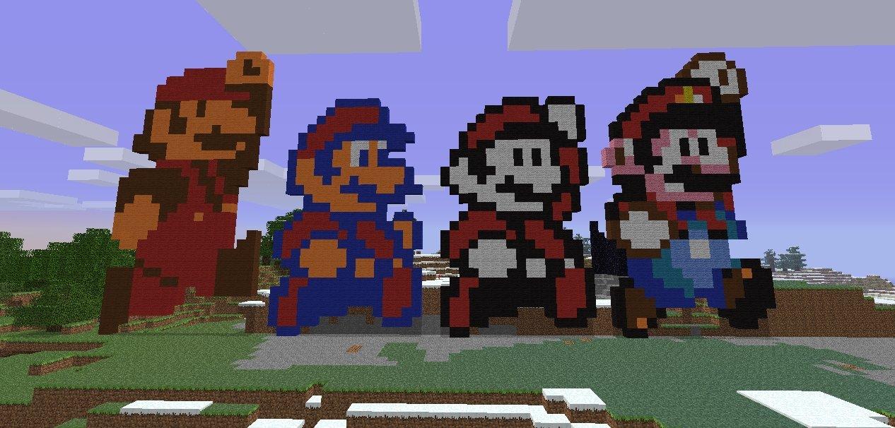 Mario vs Minecraft (2)