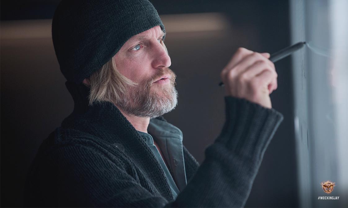 Primera imagen de Woody Harrelson en Los Juegos del Hambre: Mockingjay Parte 1, de Lionsgate Films