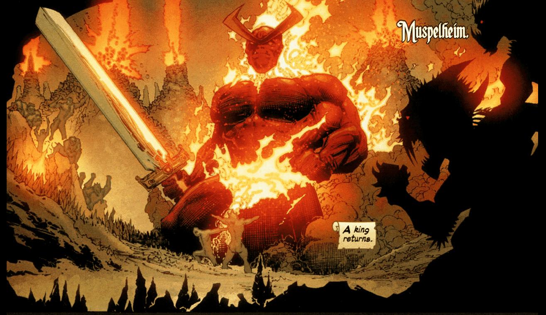 Surtur, Thor, Marvel