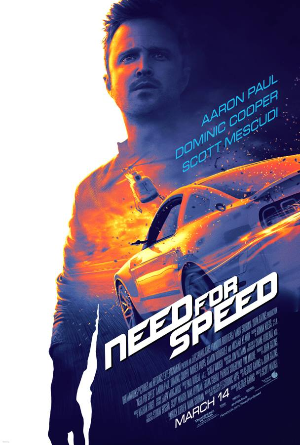 Need for Speed poster starring Aaron Paul - Imgur