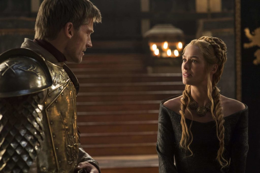 Jaime Lannister y Cersei Lannister
