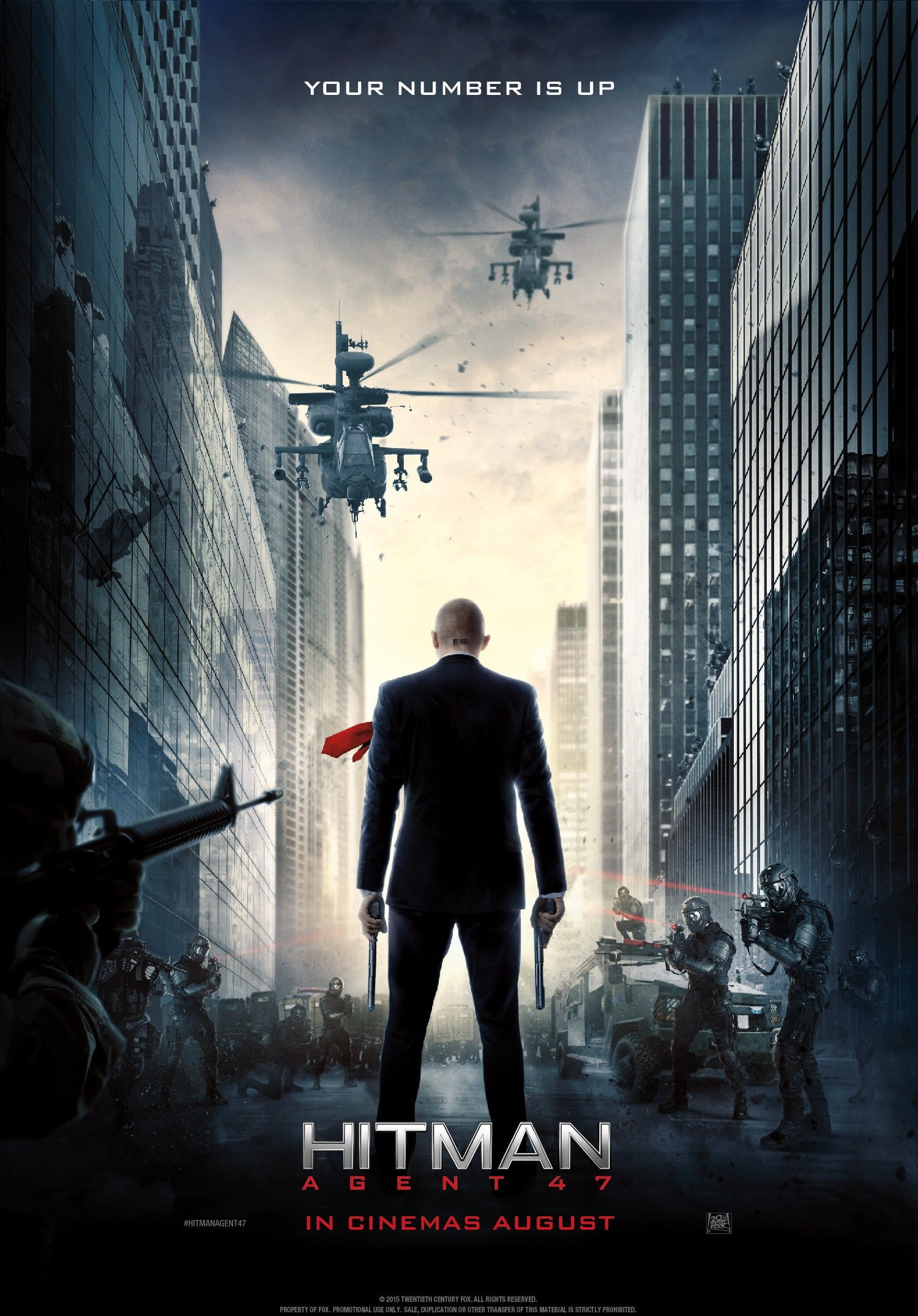 Nuevo poster hitman agent 47