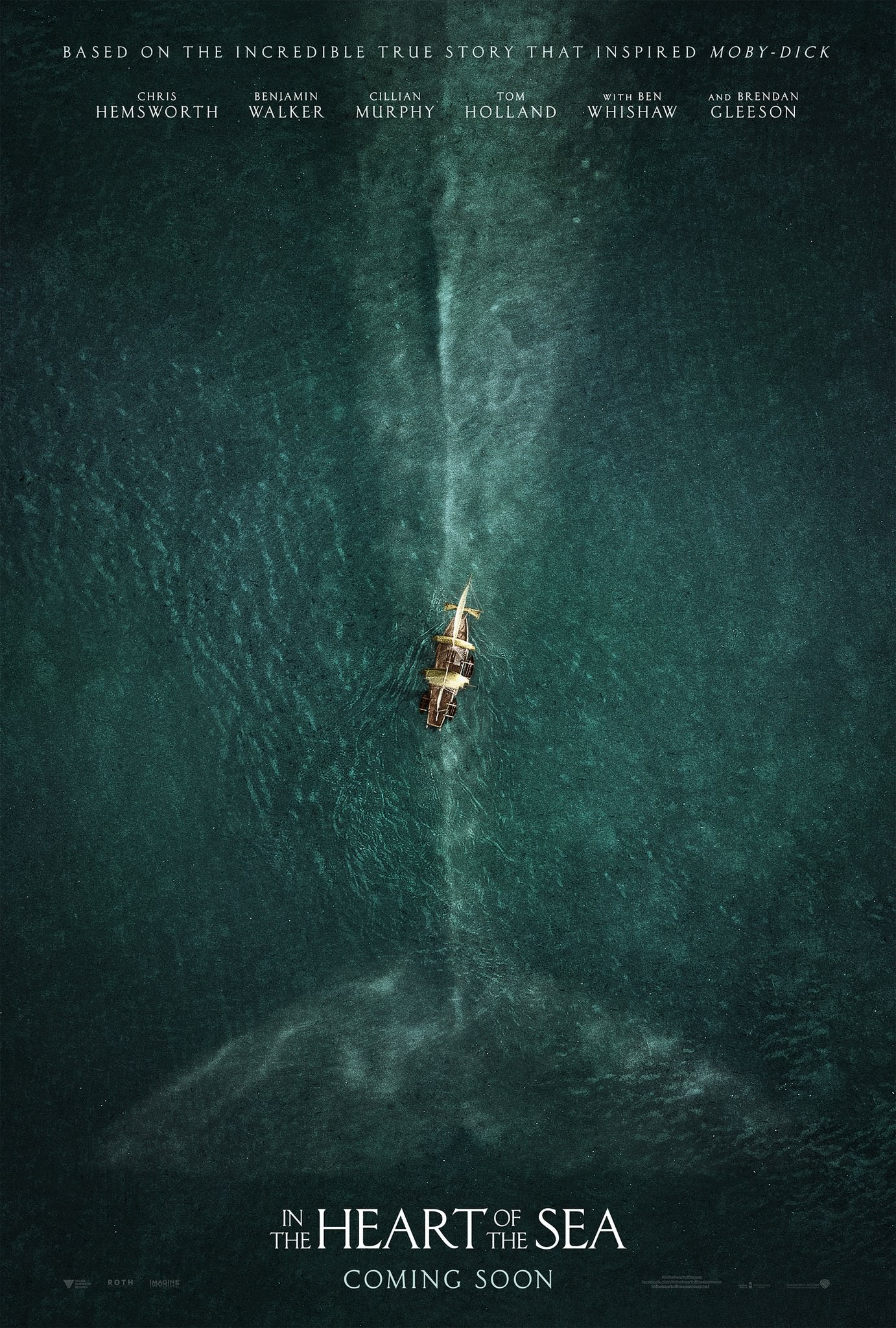 Nuevo trailer para In the Heart of the Sea de Ron Howard