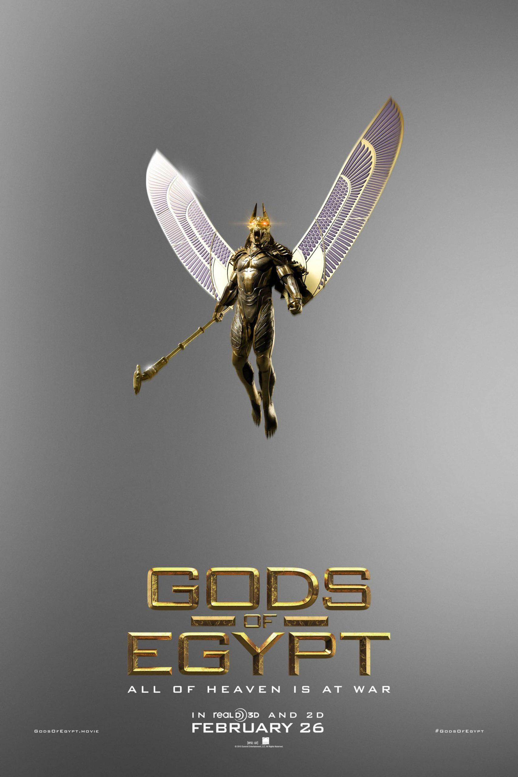 Nuevos posters para Gods of Egypt (1)