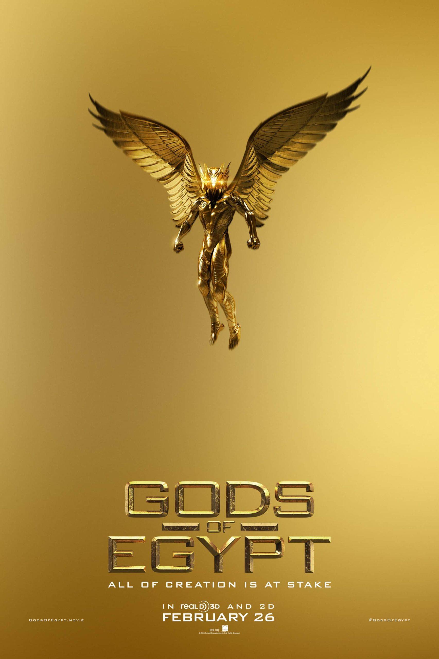 Nuevos posters para Gods of Egypt (2)